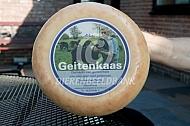 Kaas gemaakt van Poitevine geitenmelk