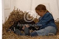 Varken op de kinderboerderij