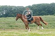 Bitloze buitenrit met je paard