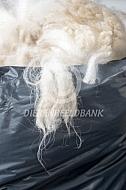 Stugge vezels alpaca wol