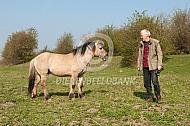 Cis van Vuure met konikpaard