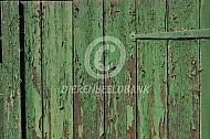 Oud groen hout (achtergrond)